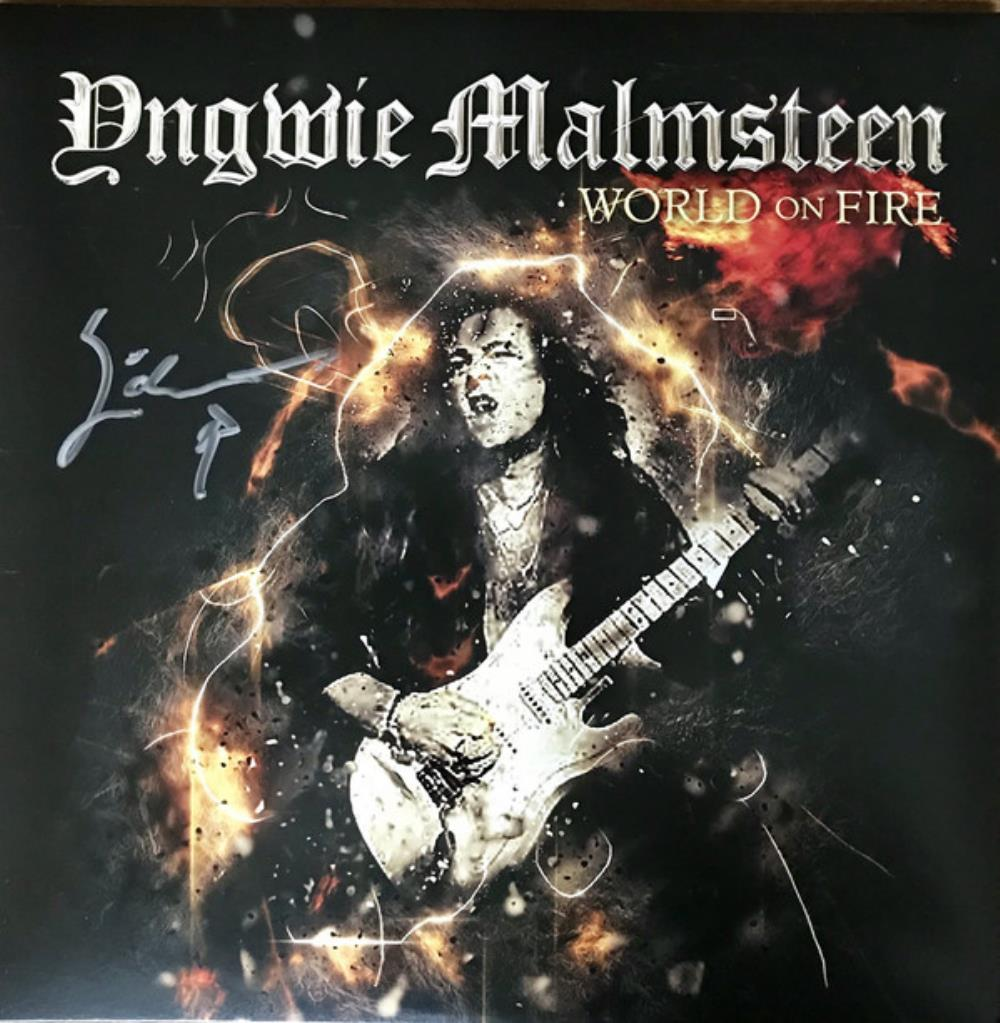 Yngwie Malmsteen World On Fire album cover