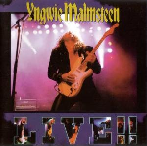 Yngwie Malmsteen Live!! album cover