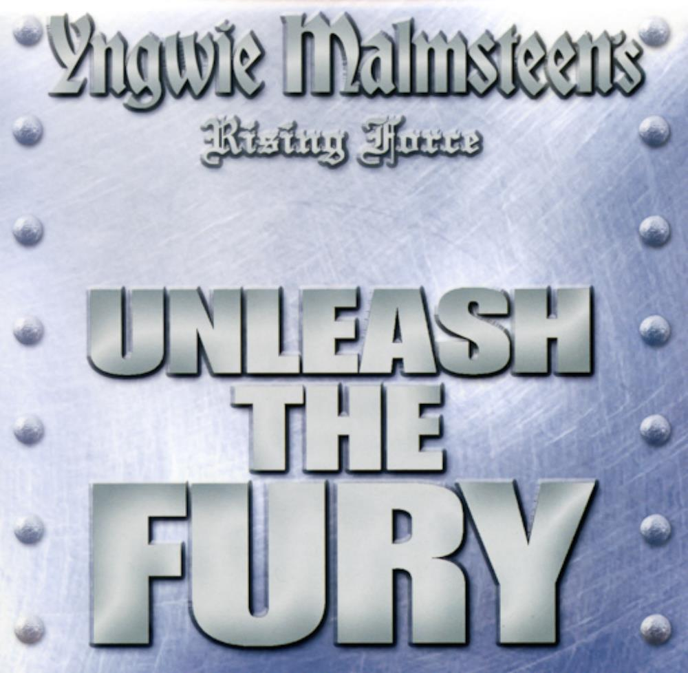 Yngwie Malmsteen Rising Force: Unleash The Fury album cover