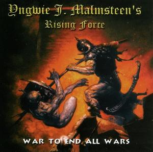 Yngwie Malmsteen - War To End All Wars CD (album) cover