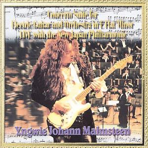 Yngwie Malmsteen Concerto Suite for Electric Guitar and Orchestra in E Flat Minor album cover