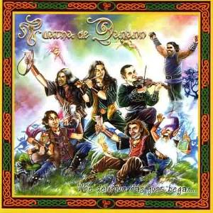 The Delirium Has Just Began... by TUATHA DE DANANN album cover