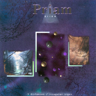 Priam - Three Distances... Irregular Signs CD (album) cover