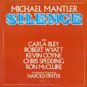 Michael Mantler Silence album cover