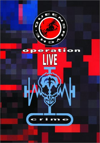 Queensrÿche - Operation: LIVEcrime CD (album) cover