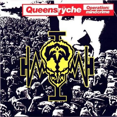 Queensrÿche - Operation: Mindcrime CD (album) cover