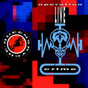 Queensr�che - Operation: Livecrime CD (album) cover