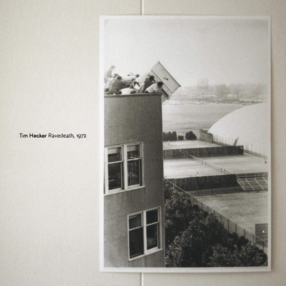 Ravedeath, 1972 by HECKER, TIM album cover