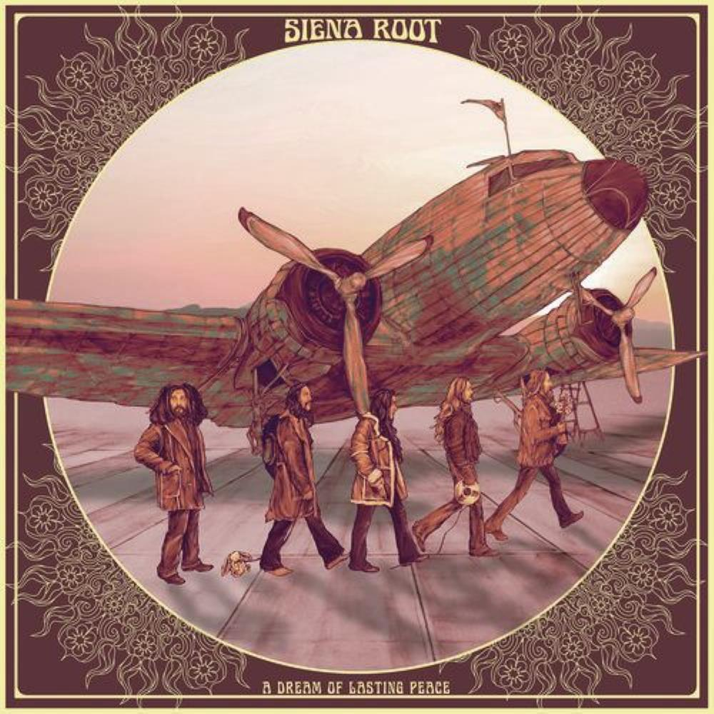 A Dream Of Lasting Peace by SIENA ROOT album cover