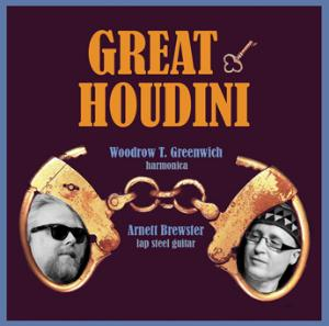 Bruce Arnold Great Houdini album cover