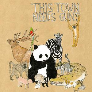 This Town Needs Guns Animals album cover