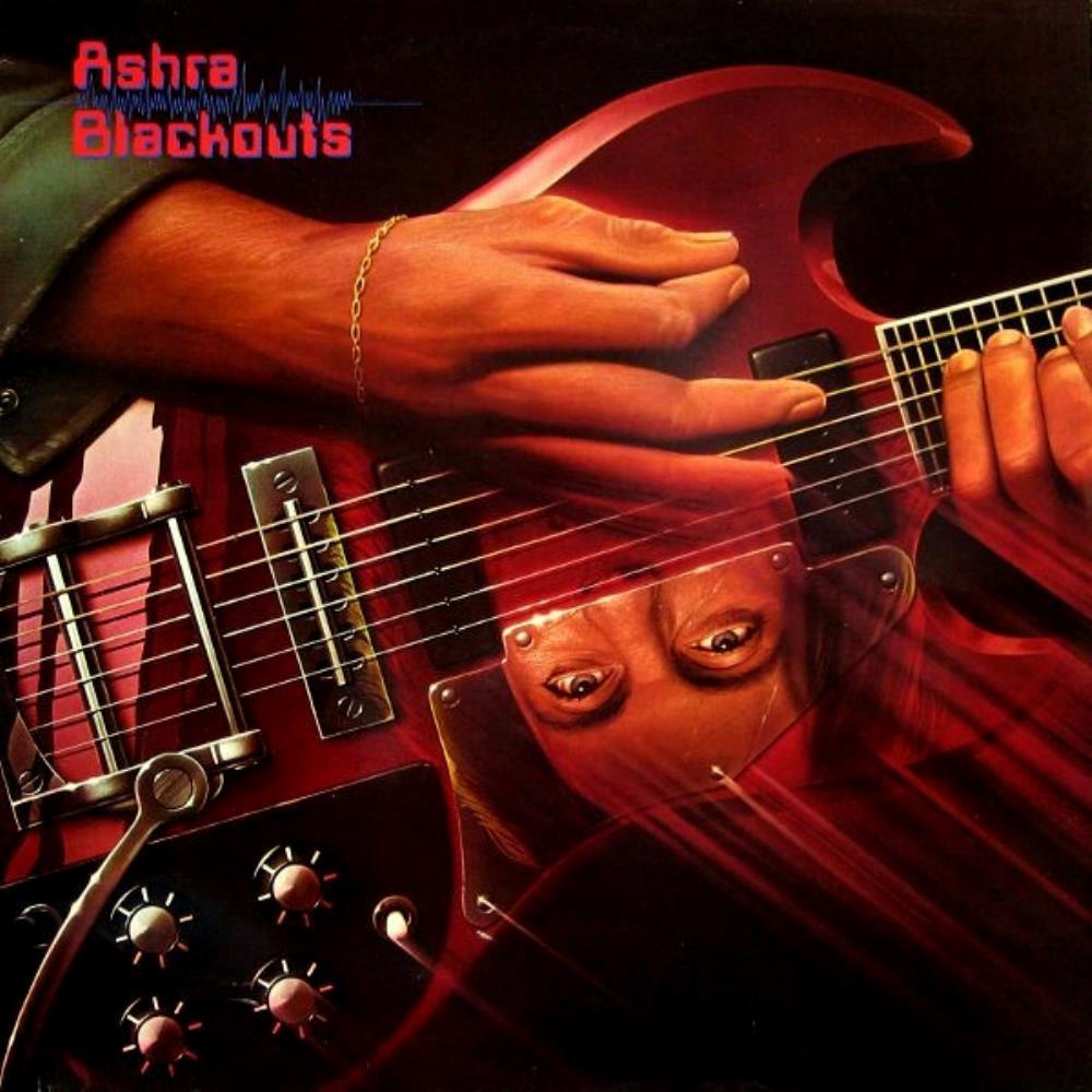Blackouts by ASHRA album cover