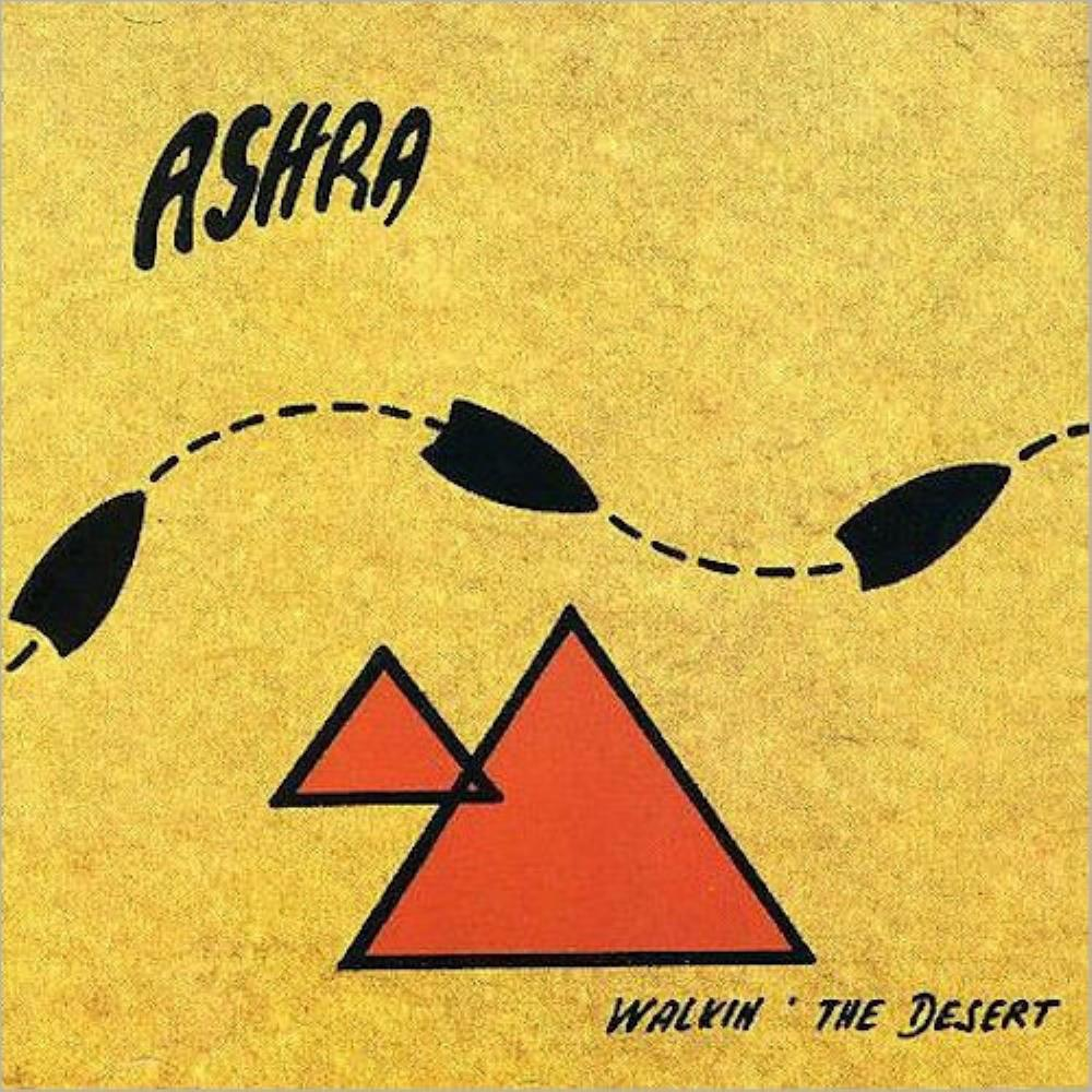 Walkin' The Desert by ASHRA album cover
