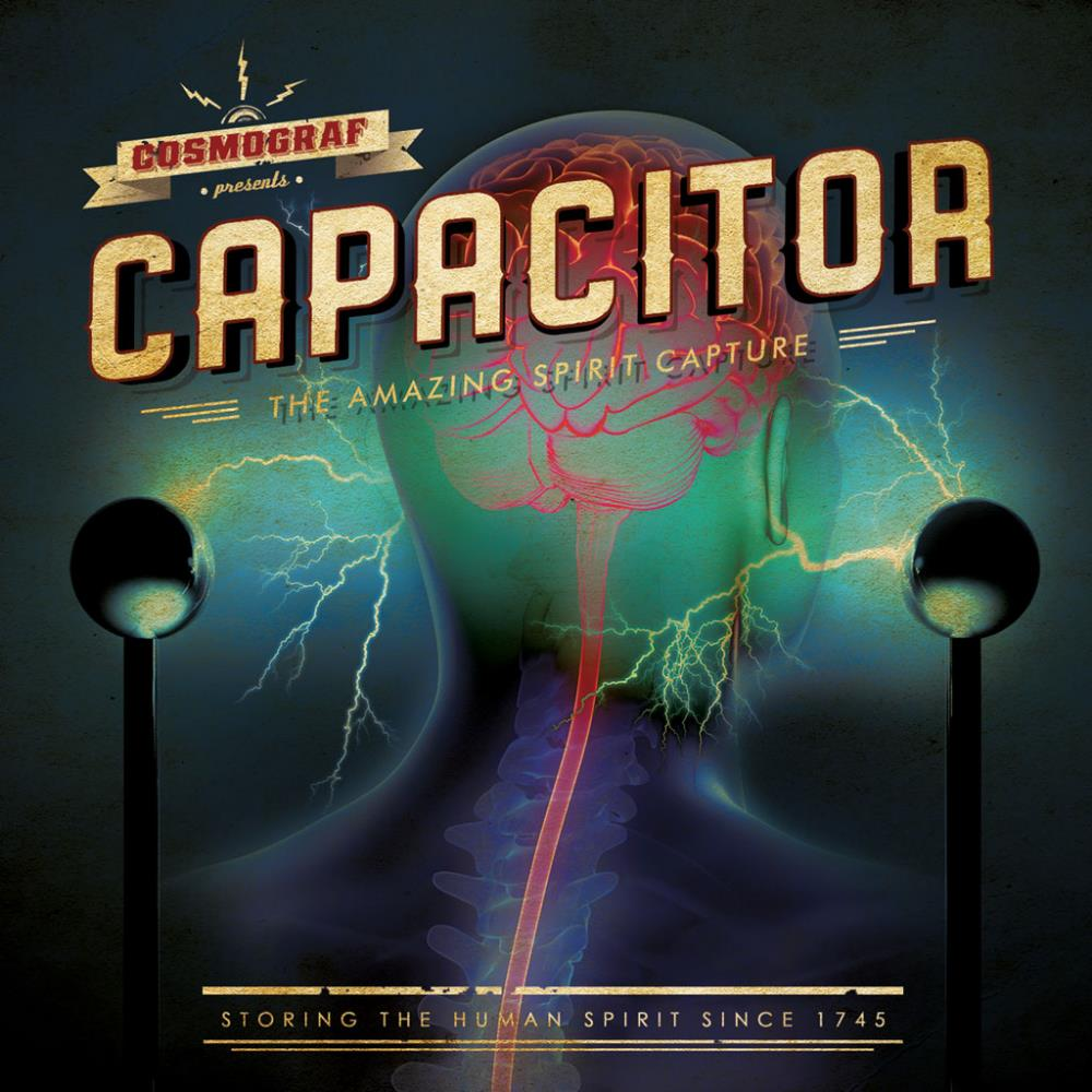 Cosmograf - Capacitor CD (album) cover