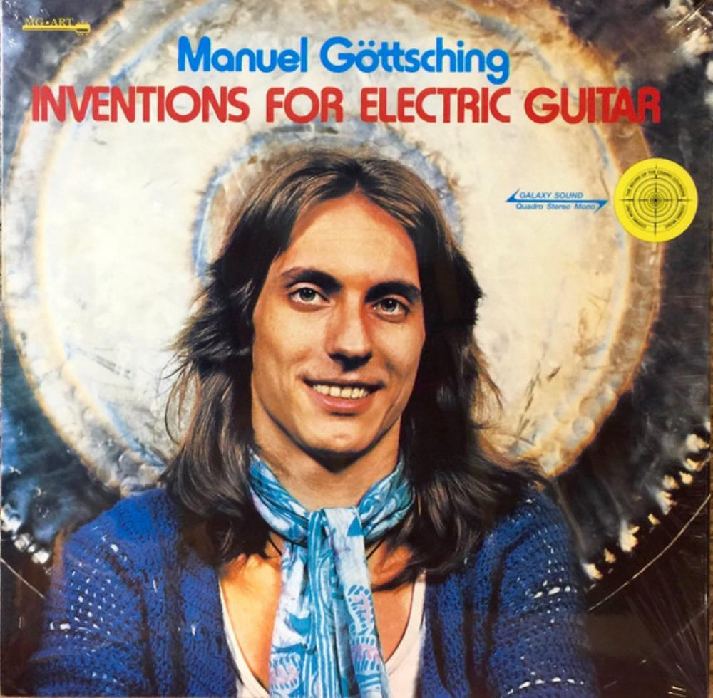 Manuel Göttsching - Inventions For Electric Guitar CD (album) cover