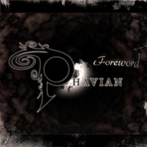 Phavian - Foreword CD (album) cover