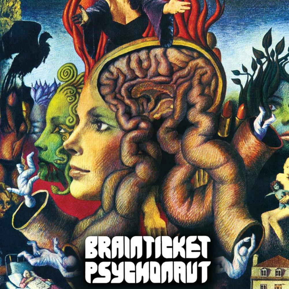 Psychonaut by BRAINTICKET album cover