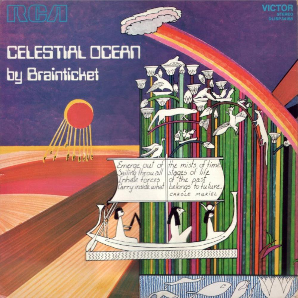 Brainticket - Celestial Ocean CD (album) cover