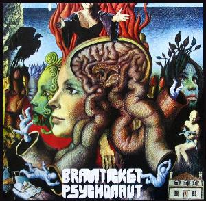 Psychonaut by BRAINTICKET album cover