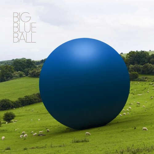 Peter Gabriel Big Blue Ball album cover
