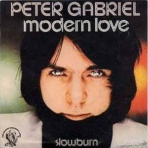 Peter Gabriel Modern Love album cover