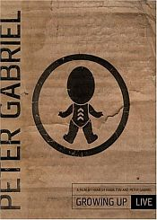Peter Gabriel - Growing Up Live CD (album) cover