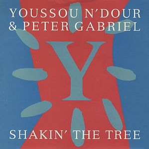 Peter Gabriel Shakin' The Tree (w/ Youssou N'Dour) album cover