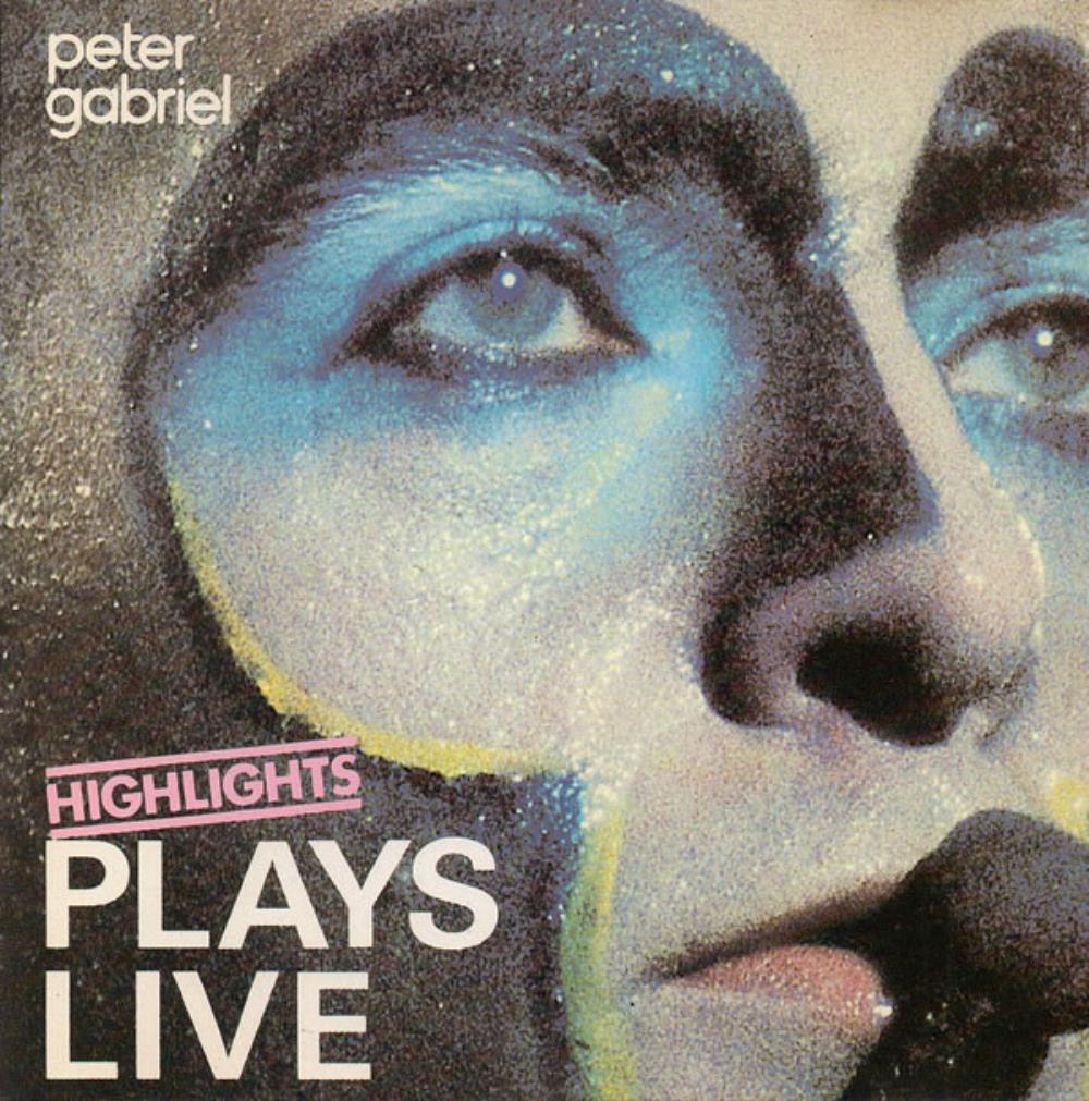 Peter Gabriel Plays Live - Highlights album cover
