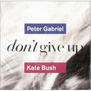 Peter Gabriel Don't Give Up (w/ Kate Bush) album cover