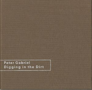 Peter Gabriel 	Digging In The Dirt - Brown Linen Box album cover