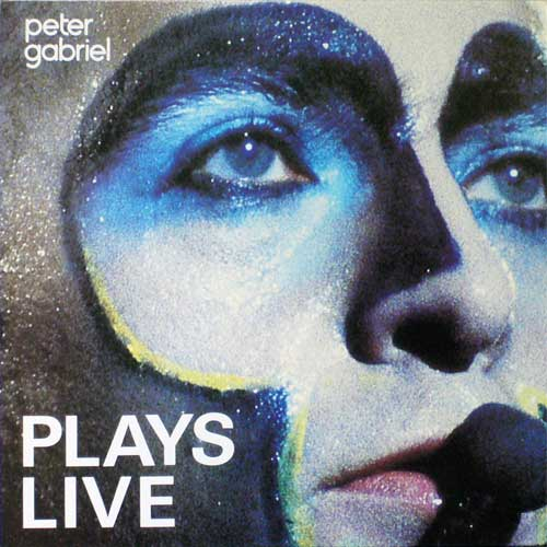 Peter Gabriel Plays Live album cover