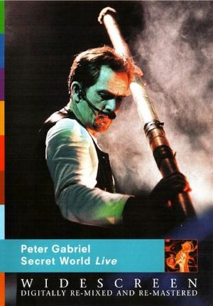 Peter Gabriel - Secret World Live CD (album) cover