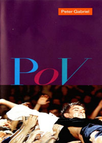 Peter Gabriel - P.O.V.  CD (album) cover