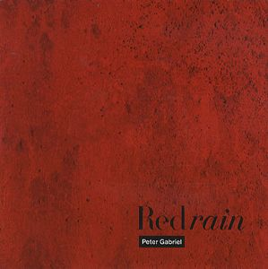 Peter Gabriel Red Rain album cover