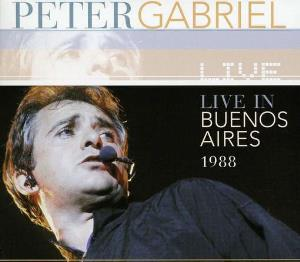 Peter Gabriel Live in Buenos Aires 1988 album cover