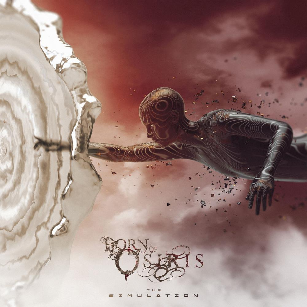The Simulation by BORN OF OSIRIS album cover