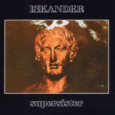 Supersister - Iskander CD (album) cover