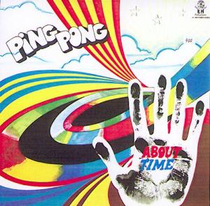 Ping Pong - About Time CD (album) cover