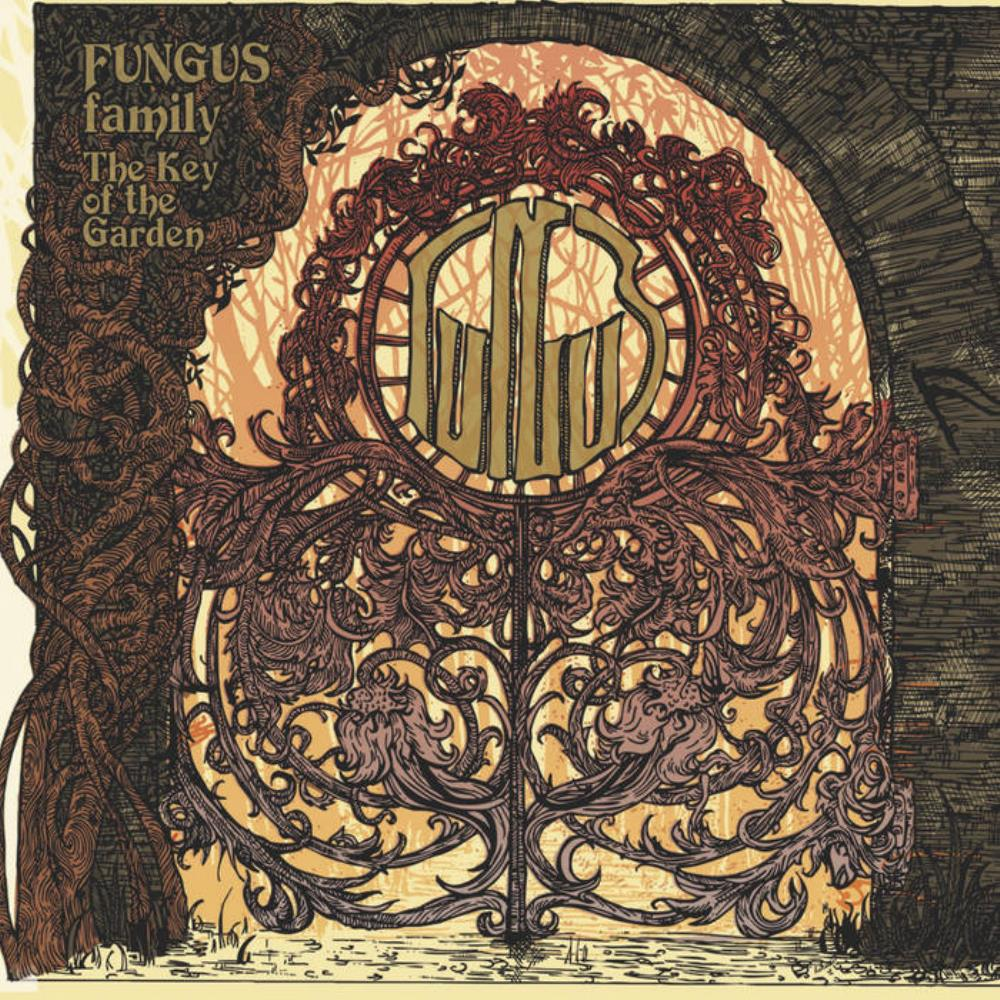 The Key Of The Garden by FUNGUS album cover