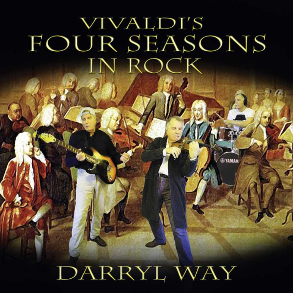 Darryl Way Vivaldi's Four Seasons In Rock album cover