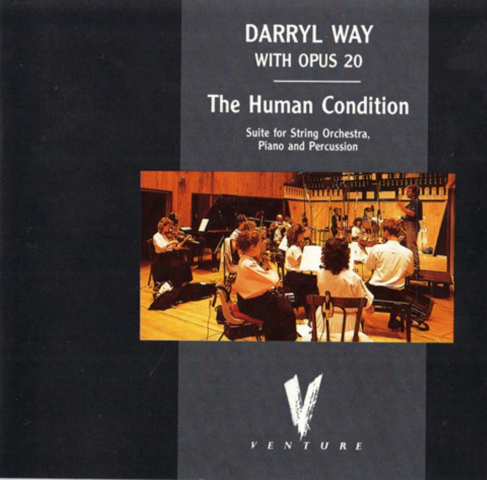Darryl Way & Opus 20: The Human Condition by WAY, DARRYL album cover