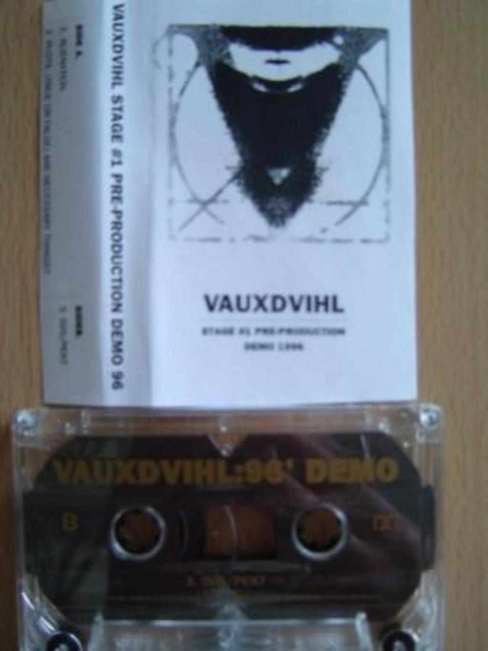 96 Demo by VAUXDVIHL album cover