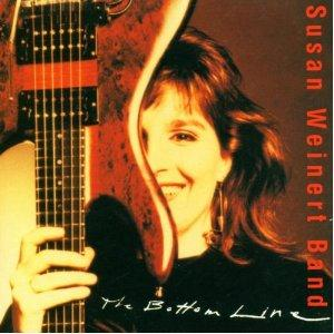 Susan  Weinert Band The Bottom Line album cover