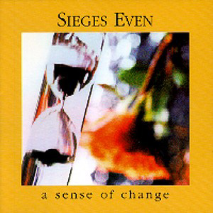 Sieges Even - A Sense of Change CD (album) cover