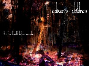 Edison's Children - The Final Breath Before November CD (album) cover