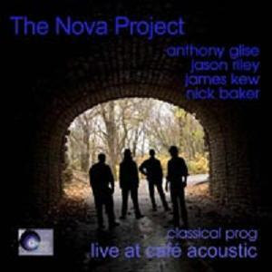 Live at the Caf� Acoustic by NOVA PROJECT, THE album cover