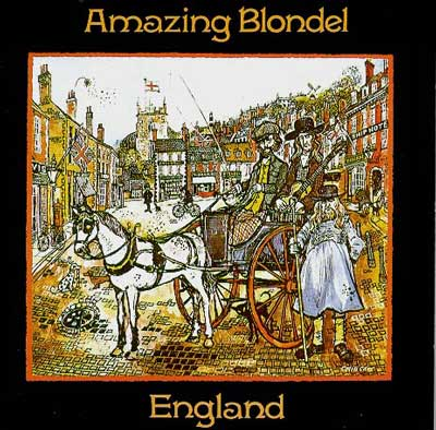 Amazing Blondel England album cover