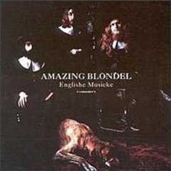 Amazing Blondel - Englishe Musicke CD (album) cover