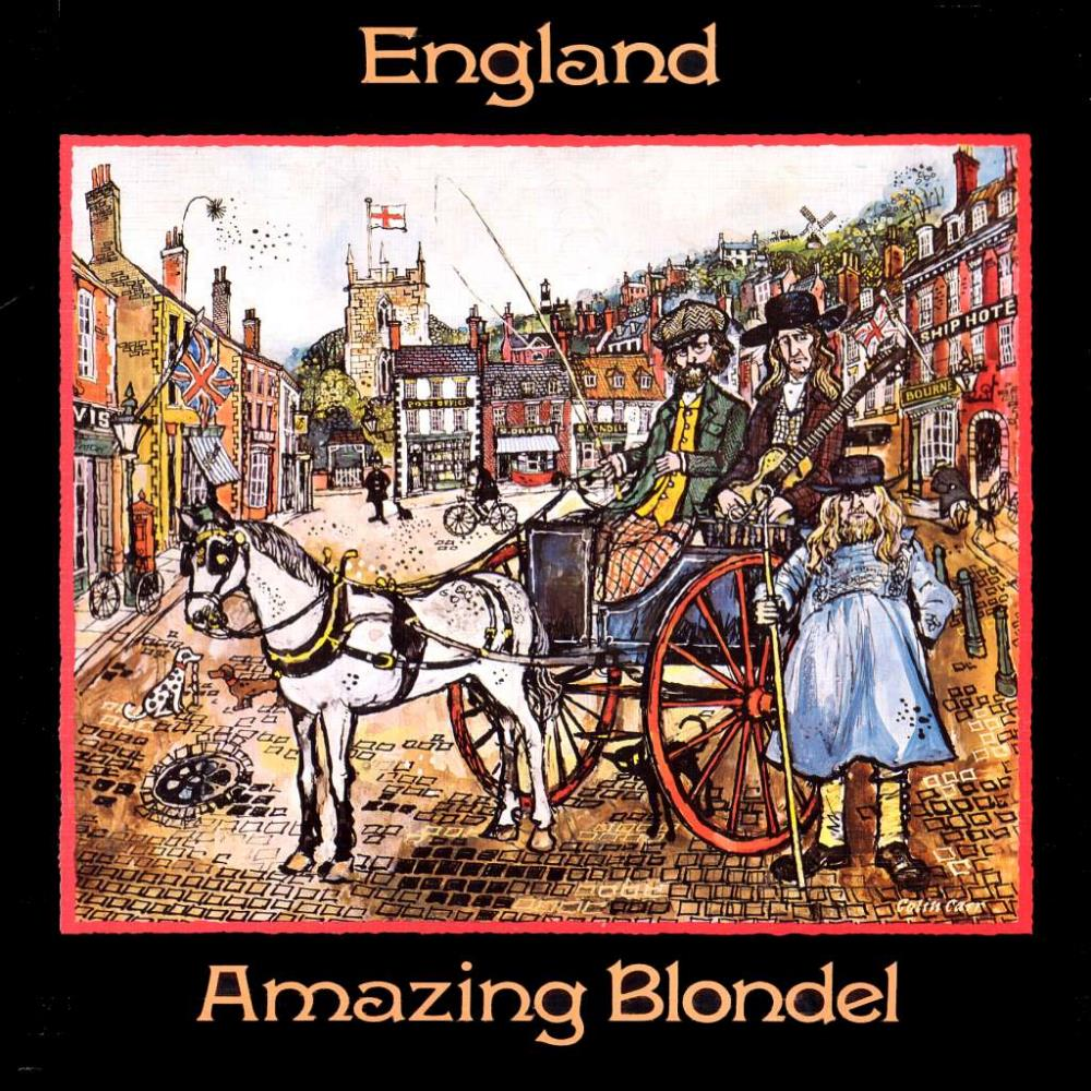 England by AMAZING BLONDEL album cover