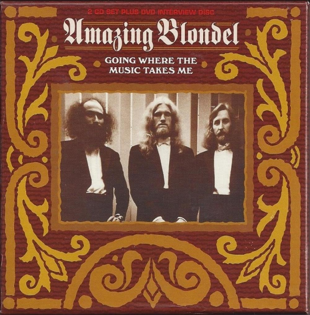 Amazing Blondel Going Where the Music Takes Me album cover